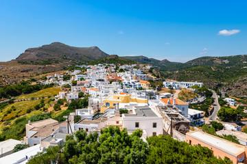 Fotomurales - View of Chora, Kythira, Greece.