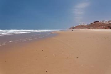 Plaża w Sidi Ifni, Maroko