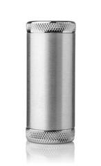 Blank round aluminum ontainer