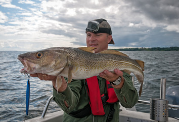 Cod fishing in Southern Sweden