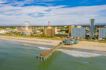Fotomurales - Summer scene in Myrtle Beach SC USA