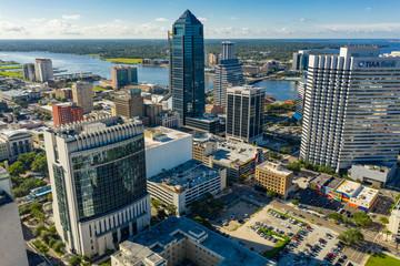 High aerial photo Jacksonville FL - fototapety na wymiar