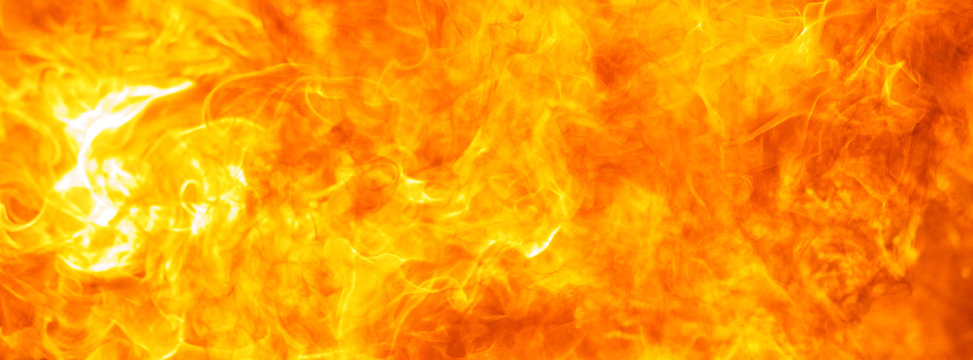 abstract blow up blaze, flame, fire element texture for banner background, hot theme, design, concept