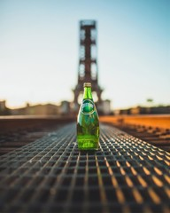 Perrier bottle
