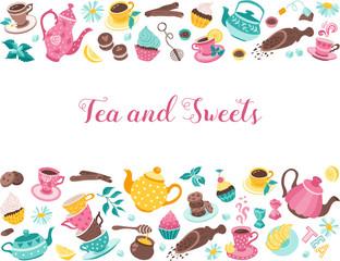 tea time horisontal poster