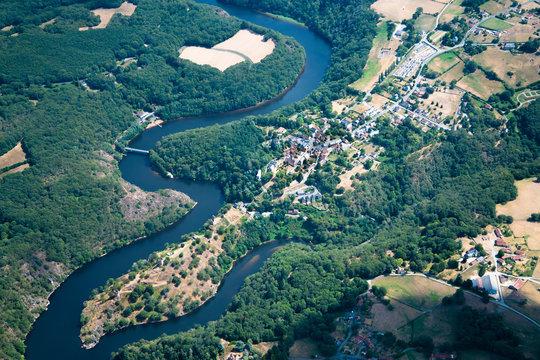 Crozant et ses ruines  - Vallée des peintres - Creuse