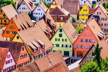 old town of dinkelsbuhl - germany