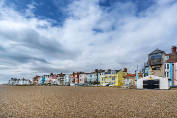 Aldeburgh on the Suffolk coast of East Anglia