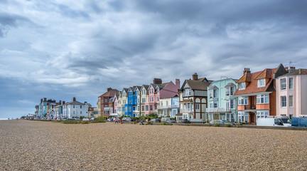 Aldeburgh pebble beach in Suffolk
