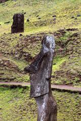 Moai Rano Raraku- Geburt der Moai´s