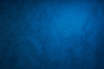 blue grey abstract background, the Studio wall is illuminated by constant light