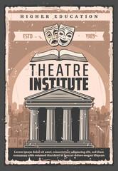 Theater actors art institute, higher education