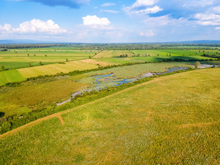 Nature park Lonjsko Polje in Croatia, Europe