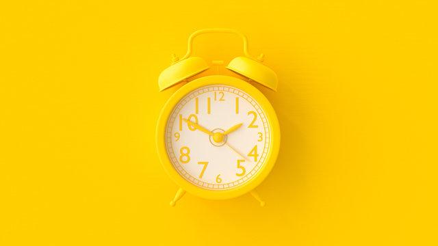 Yellow Clock.