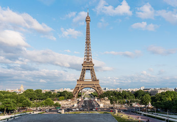 Wall Mural - Eiffel tower, famous landmark and travel destination in France, Paris