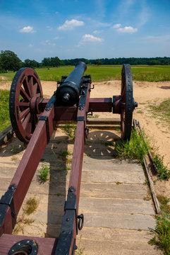 Yorktown cannon
