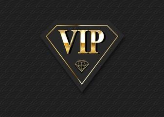 VIP club invitation vector template.