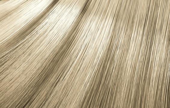 Blonde Hair Blowing Closeup
