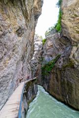 Wandersteg in der schweizer Aareschlucht