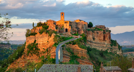 Civita di Bagnoregio is a town in the Province of Viterbo in central Italy. Was founded by Etruscans more than 2,500 years ago.