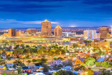Fototapete - Albuquerque, New Mexico, USA Cityscape