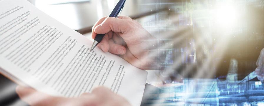 Reading documents; multiple exposure
