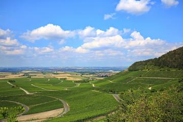 Fototapete - Landschaft bei Iphofen