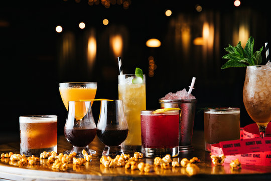 Assortment of Cocktails