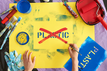 Say no to plastic waste