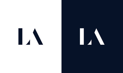 Abstract letter AK logo. This logo icon incorporate with abstract shape in the creative way.