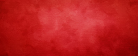 Red Christmas background with vintage texture, abstract solid elegant  textured paper design Wall mural