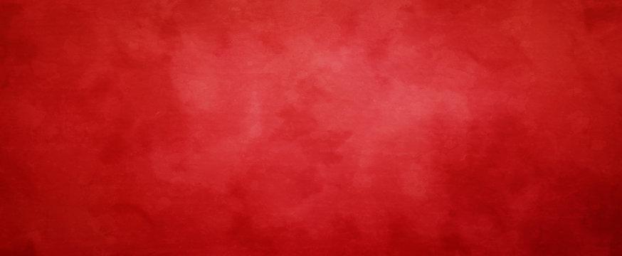 Red Christmas background with vintage texture, abstract solid elegant  textured paper design