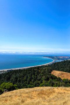 Overlooking Stinson Beach in Marin County, CA