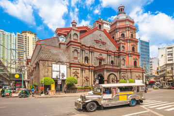 Minor Basilica of Saint Lorenzo Ruiz in manila