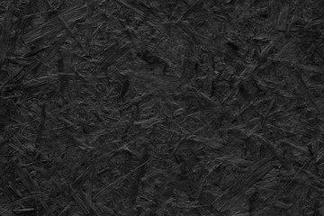 Black wood texture background. Dark black messy art wood texture surface Wall mural