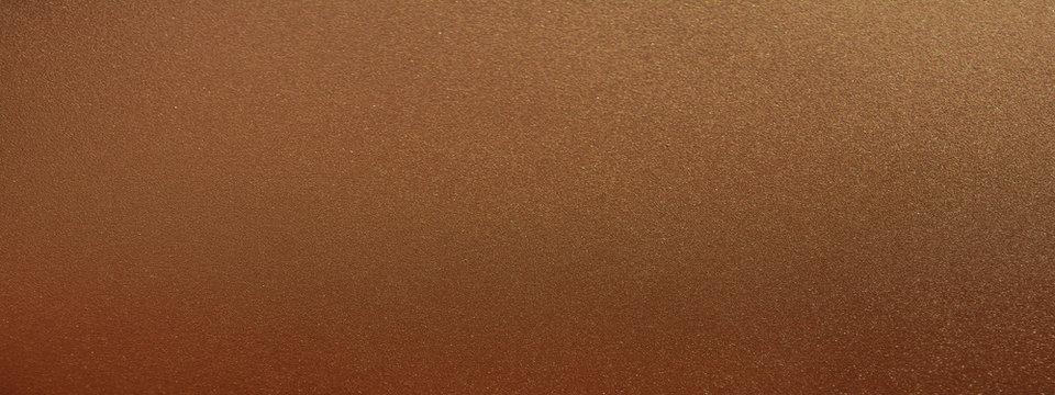 Panorama dark bronze texture background. Panoramic dark brown bronze texture surface