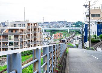 郊外の住宅街 川崎市