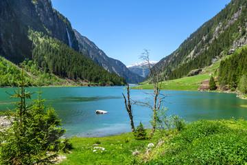 Mountain lake in the Alps, Austria, Tirol