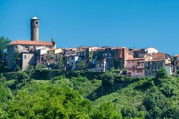Papiers peints Maroc Caprigliola, historic village in Lunigiana, Tuscany