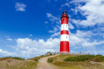 Leuchtturm auf der Insel Amrum