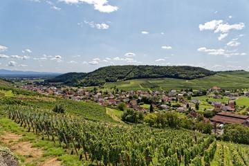 Papiers peints Vignoble Village Alsacien