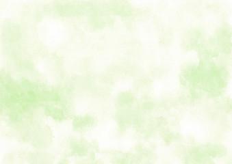 水彩 明るい緑 背景 - fototapety na wymiar