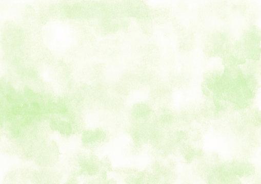 水彩 明るい緑 背景