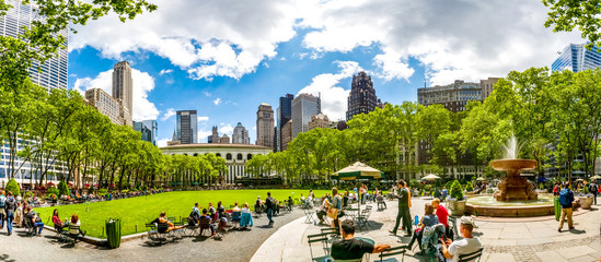 Bryant Park, New York City, USA