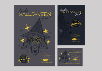 Halloween Event Promotion Set