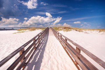Perdido Key Sandy Boardwalk