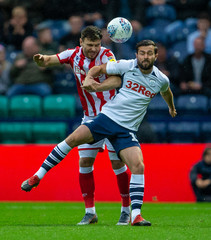 2019 Championship Football Preston v Stoke Aug 21st