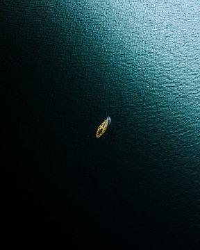 Lone sailor.