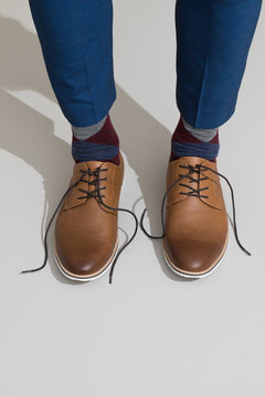 Untied Man's Shoes