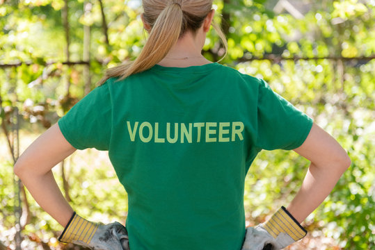 Proud volunteer